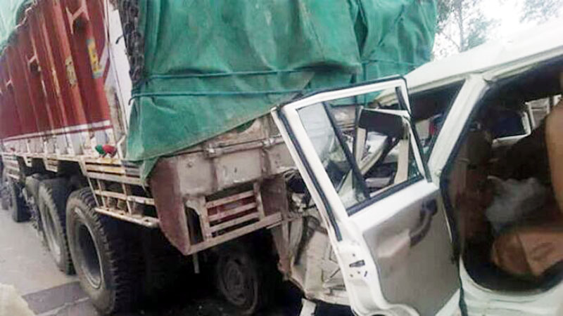 A view of accident.