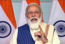Prime Minister Narendra Modi addressing after virtually inaugurating Bengaluru Technological Summit 2020, in New Delhi.
