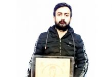 Sahil Gupta bestowed with Sher-i-Kashmir Award