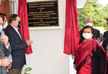 Chief Justice Gita Mittal inaugurating the Jammu Centre of the J&K International Arbitration Centre on Saturday.