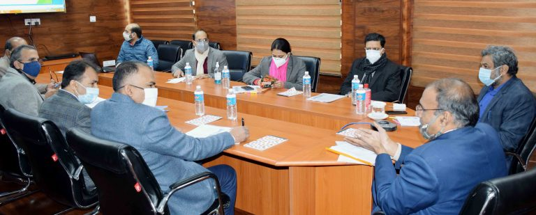 Union Additional Secretary reviews implementation of Digital India Land Records Modernization Programme