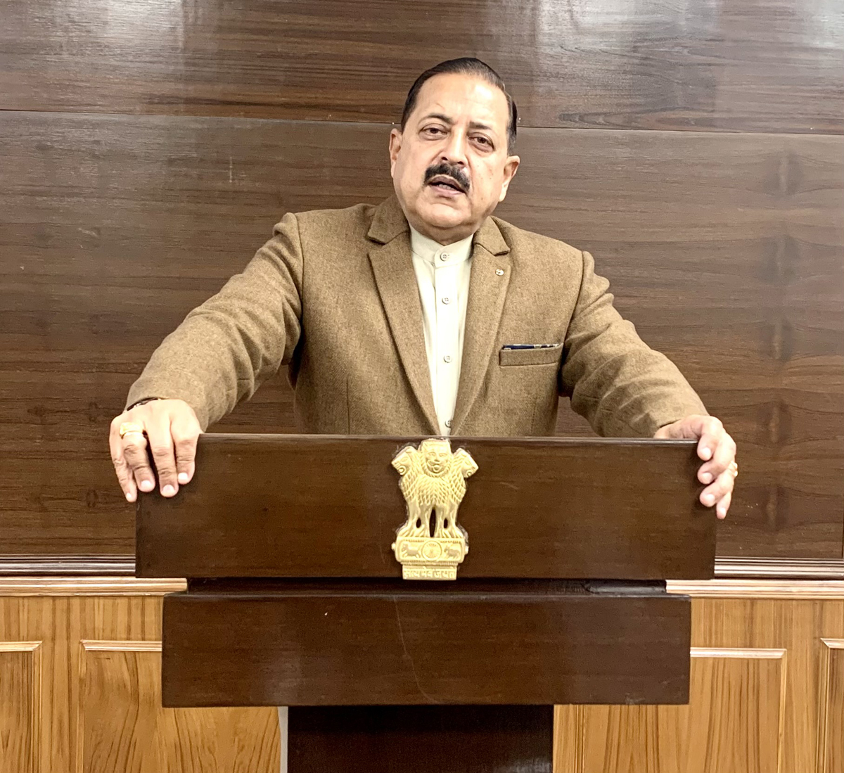 Union Minister Dr. Jitendra Singh delivering the inaugural address at the 2-day All India Conference