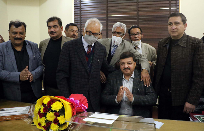 Newly elected team of JCCI taking charge on Thursday.