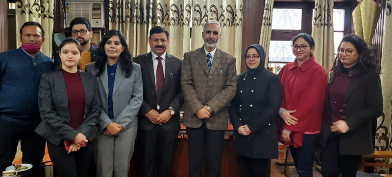 Dignitaries during signing of MoU.