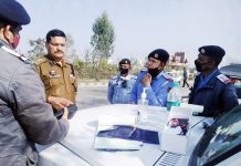 Traffic Police Rural Jammu starting e-challaning system.