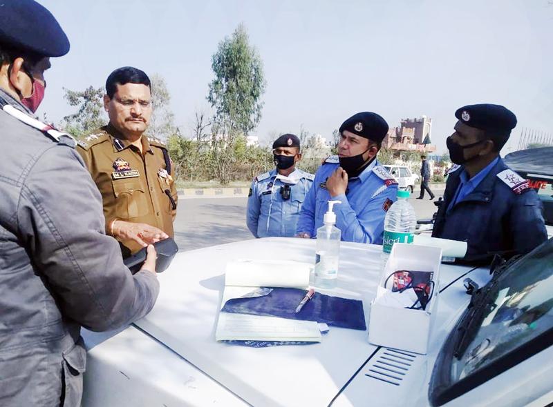 Traffic Police Rural Jammu starting e-challaning system.