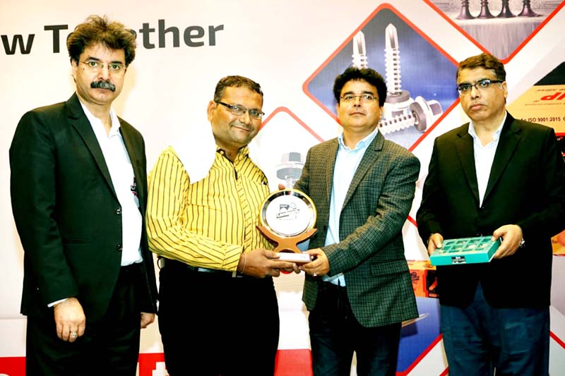 Dignitaries during meeting organized by Landmark Crafts Private Limited.