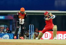Virat Kohli playing a shot during a match against Sunrisers Hyderabad in Chennai on Wednesday.