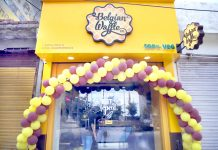 Newly opened outlet of Belgian Waffle Company at Channi Himmat, Jammu.