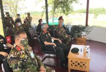 General MM Naravane visited interacted with the officers of Bangladesh Army.