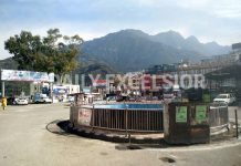 Deserted look of an otherwise busy market at Katra. -Excelsior/Romesh Mengi