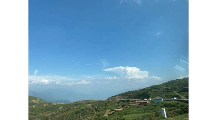 Bird's-eye view from Patnitop-Sanasar road.