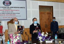 Chief Justice Pankaj Mithal launching a magazine on Wednesday.