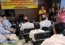 SDM Jammu North and others in the awareness programme on NGDRS.