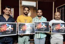 Sahil Mahajan of BJP Sanskriti Cell and others releasing devotional songs album.