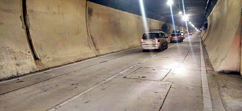 Banihal-Qazigund tunnel open to traffic for trial on Wednesday.