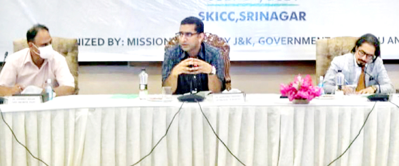 Mission Youth CEO Dr Shahid Iqbal Choudhary during a conference.