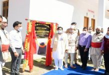 Union MoS Jal Shakti and Tribal Affairs during tour of Kishtwar areas. —Excelsior/Tilak Raj