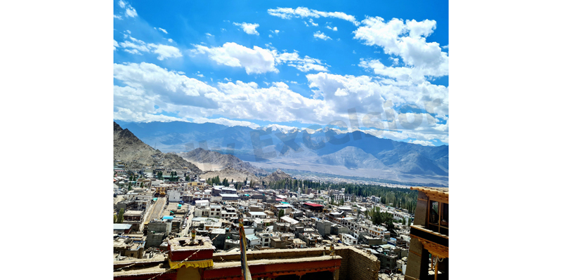 A view of Leh city. —Excelsior/Rakesh