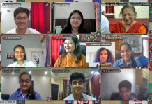 Participants of Round Square international Conference from KC Public School.