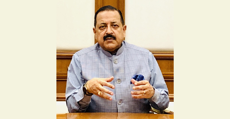Union Minister Dr. Jitendra Singh delivering Keynote address at LEADS-2021 Summit organized by FICCI at New Delhi on Wednesday.