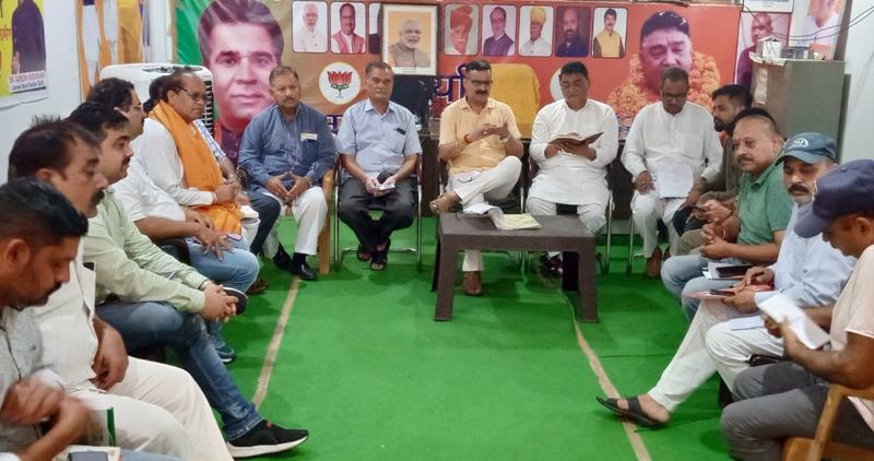 """""""Sewa aur Samarpan"""" is inherent aptitude of BJP"""