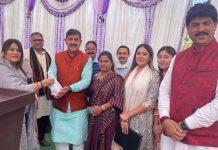 MP Jugal Kishore Sharma during inauguration of awareness camp.