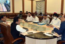 Principal Secretary Power Rohit Kansal chairing a meeting in Jammu on Wednesday.