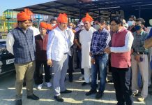 Div Com during visit to Surinsar.