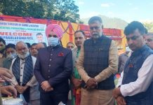 Union Minister during visit to Reasi.