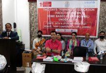 Director Samagra Shiksha addressing the valedictory function of two-day workshop on Home Based Learning.